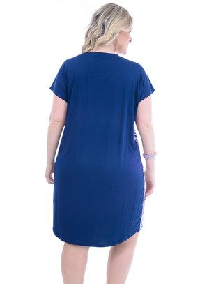 Vestido Melinde Mix Estampa Plus Size