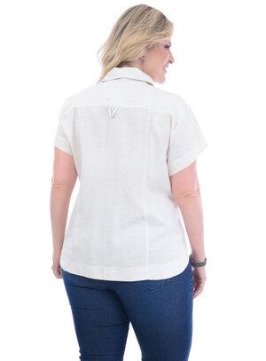 Camisa Plus Size Nakia