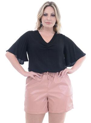 Blusa Plus Size África