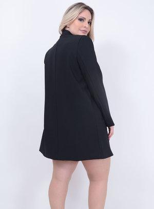 Blazer Longo Plus Size