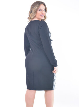 Vestido Plus Size Empreendedora