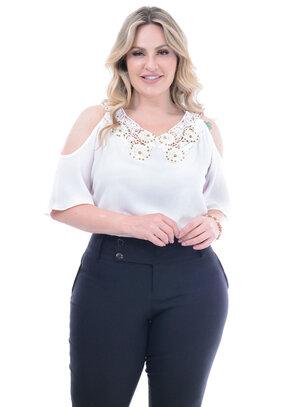 Blusa Plus Size Parapuã