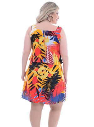 Vestido Plus Size Reduto