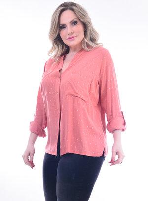Camisa Plus Size Brilho