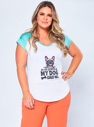 T-Shirt Plus Size Dog