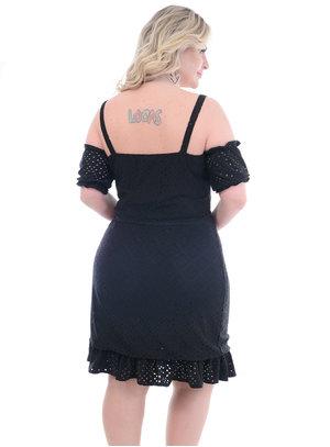 Vestido Plus Size Amélia