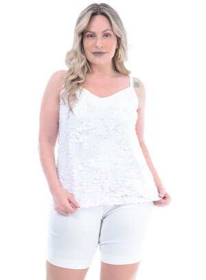 Regata Plus Size Reluzente