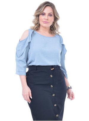Blusa Plus Size Saudade