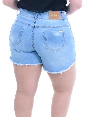 Short Jeans Plus Size Pluméria