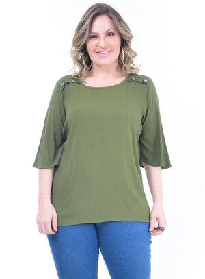 Blusa Plus Size Isabela