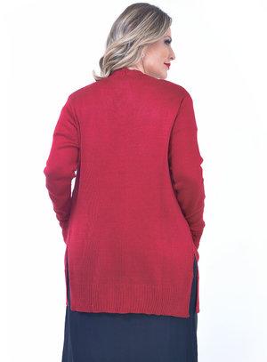 Cardigan Plus Size Clássico