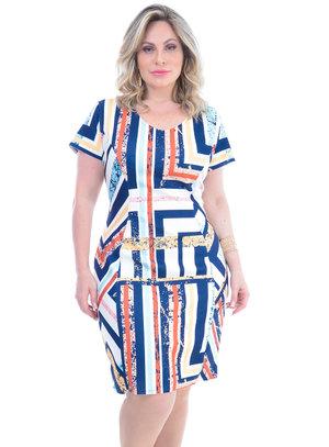 Vestido Plus Size Raiana