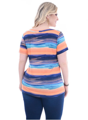 T-Shirt Plus Size Pequim