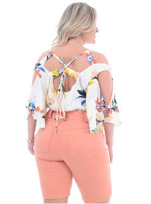 Blusa Plus Size Carambola