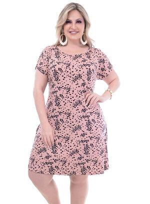 Vestido Wee Poá Plus Size