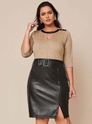 Blusa Plus Size Barcelona