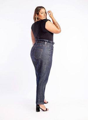 Calça Jeans Plus Size Clochard