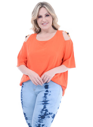 Blusa Plus Size Mexico