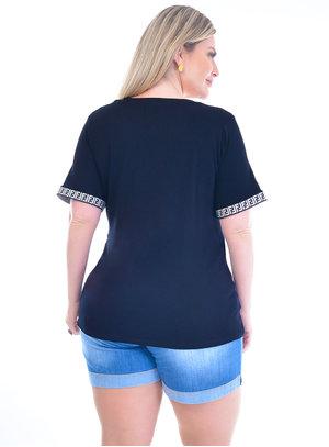 Blusa Plus Size Nicaia