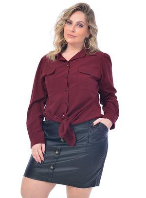 Camisa Plus Size Roma