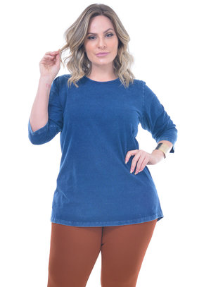 Blusa Plus Size Meca