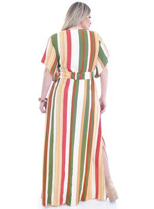 Vestido Plus Size Comores