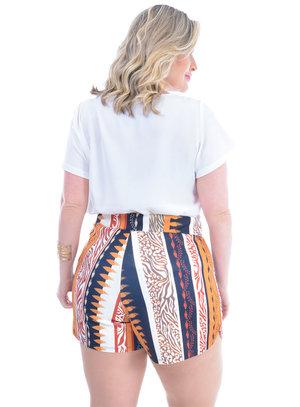 Blusa Plus Size Rúbia