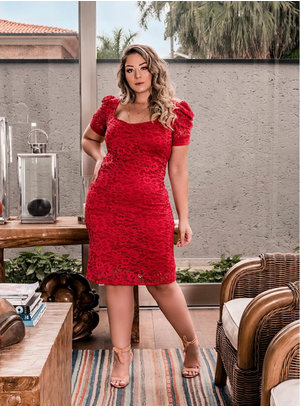 Vestido Plus Size Bruna