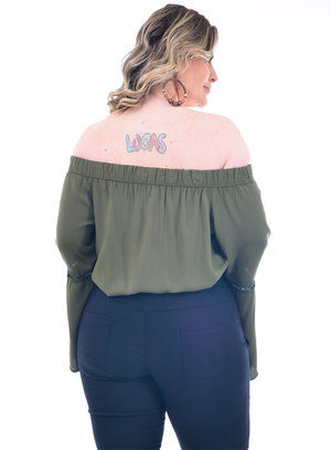 Blusa Plus Size Mirra