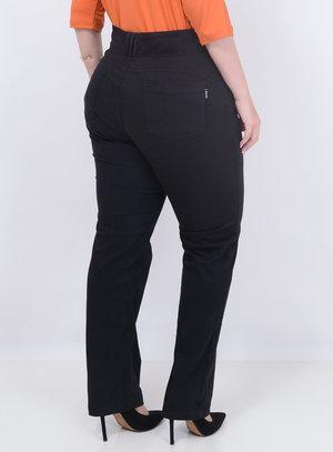 Calça Jeans Reta Plus Size