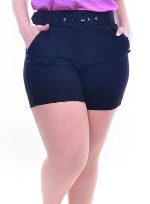 Short Plus Size Cintura Alta