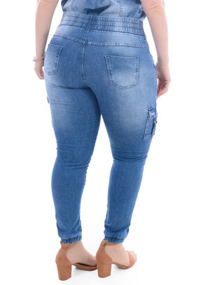 Calça Jeans Plus Size Touro