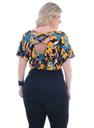 Blusa Plus Size Jaboticabal