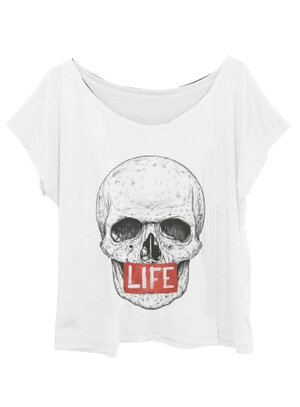 T-Shirt Plus Size Caveira