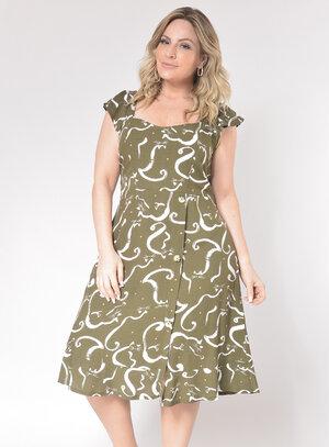 Vestido Plus Size Curto