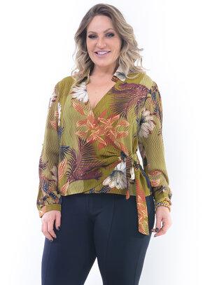 Blusa Plus Size Encantadora