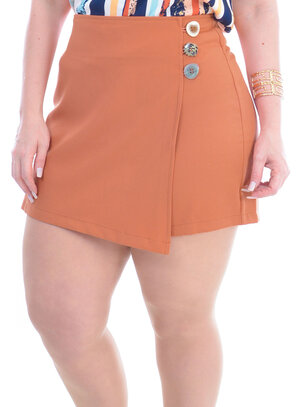 Shorts Saia Plus Size Raquel