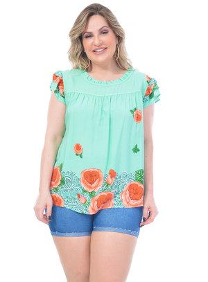 Blusa Plus Size Desafio