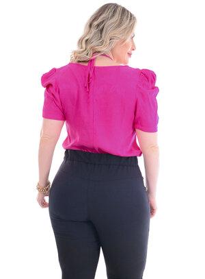 Blusa Plus Size Rosas