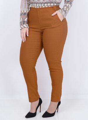 Calça Bengaline Skinny Plus Size
