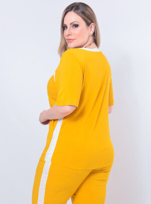 T-Shirt Plus Size Feminina