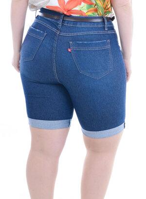 Bermuda Jeans Plus Size Cecilia