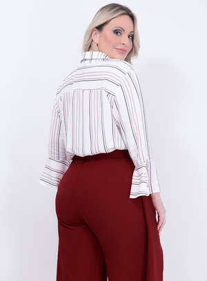 Camisa Longa Plus Size