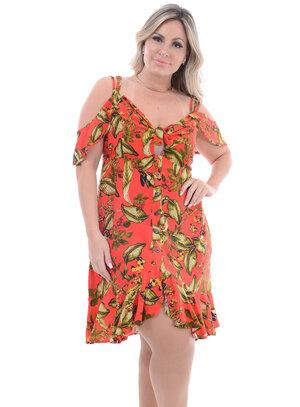 Vestido Plus Size Paixão