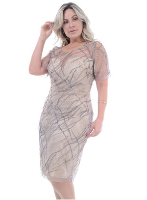 Vestido Plus Size Desejado