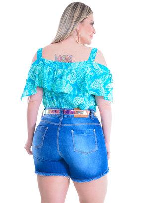 Blusa Plus Size Eduarda