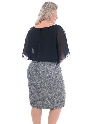 Vestido Plus Size Nobre