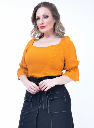 Blusa Plus Size Viva