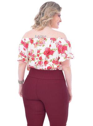 Blusa Plus Size Magarita
