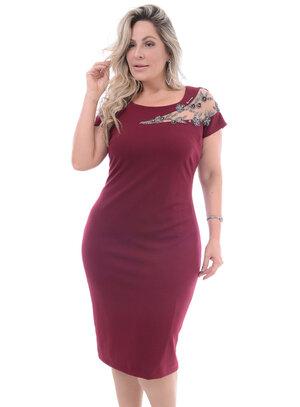 Vestido Plus Size Valioso